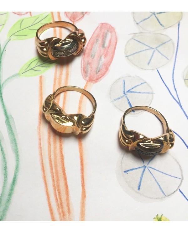 Sofia Artdeco Bronze Ring