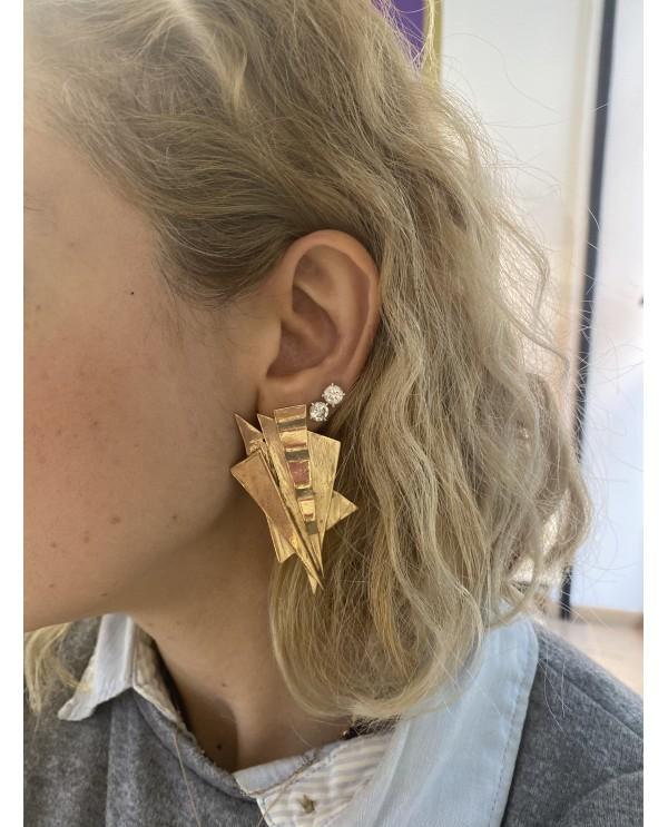 Big Fan Earring