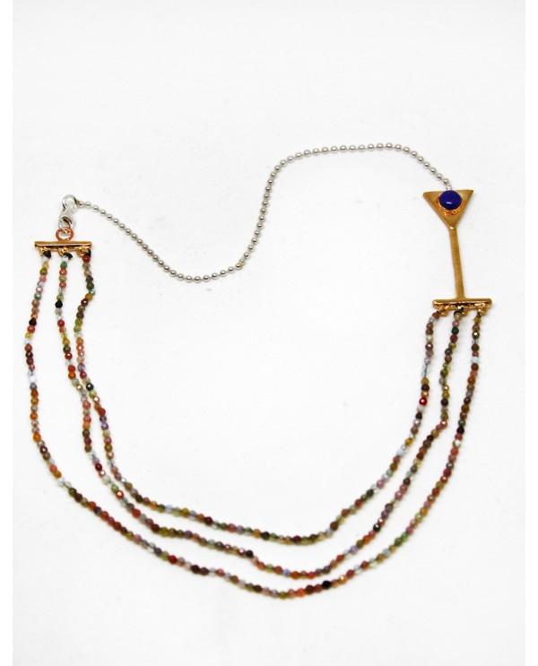 Yakari Green Onix Lapis Necklace