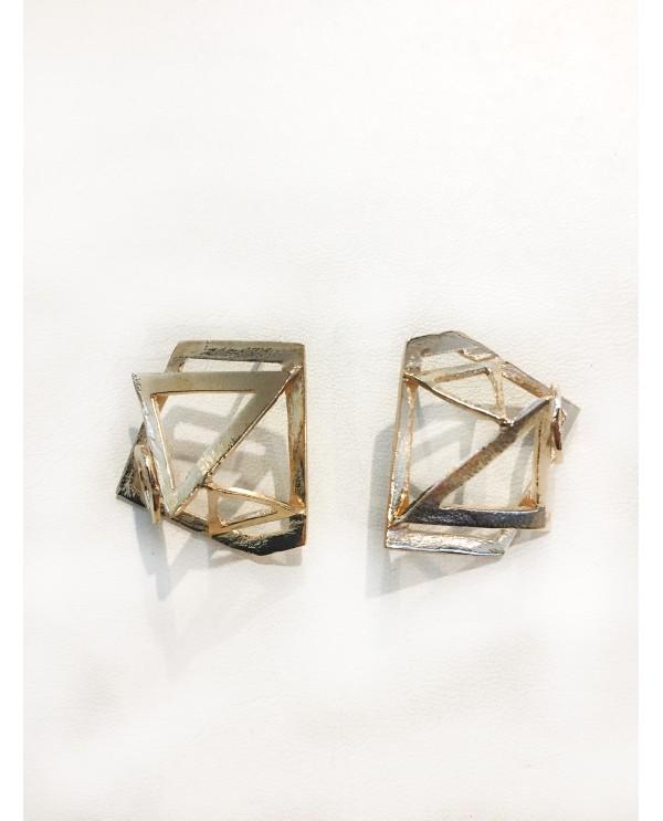 Geometric Cosmos Earrings