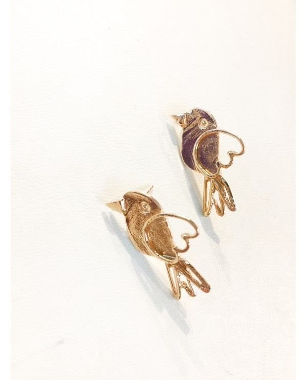 Bird of Paradise Small Earrings