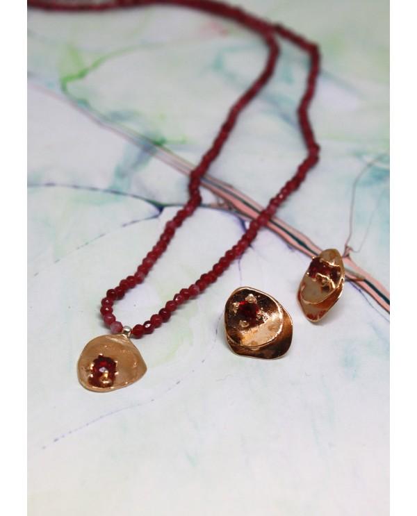 Papers Swarovski-Quartz Necklace