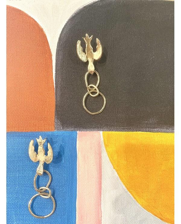 Swallow Chain Earring