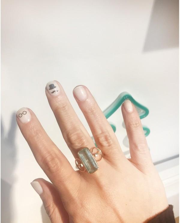 Fluorite Galaxy Ring