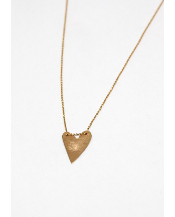 Phyrigia Gold Heart Necklace