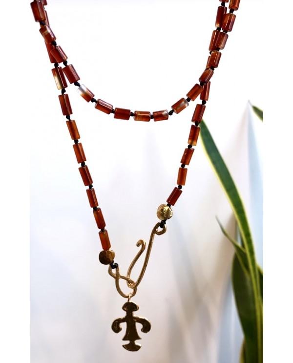 Woman Abundance Onix Necklace