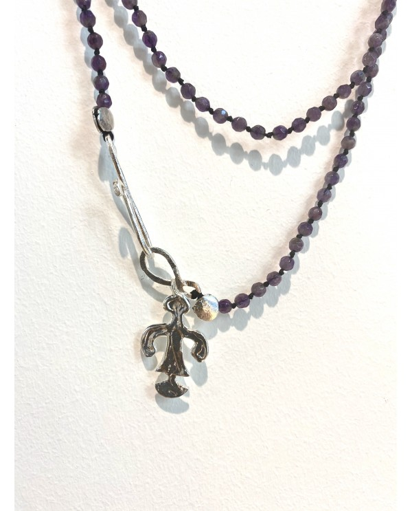 Abundance Woman Amethyst Necklace