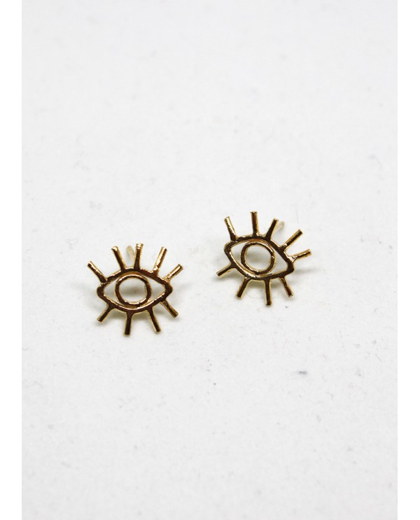 Wire Eye Earrings
