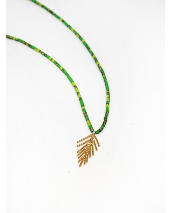 Spike Beaded Necklace
