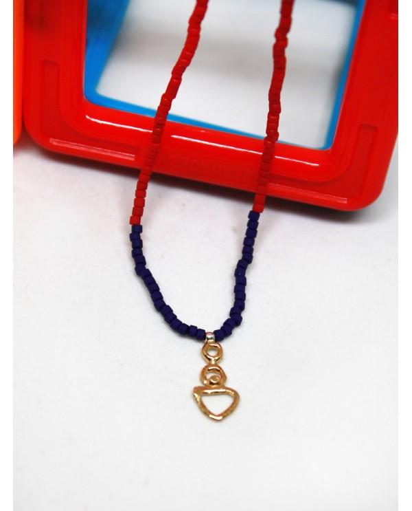 Small Anatolian Woman Beaded Necklace