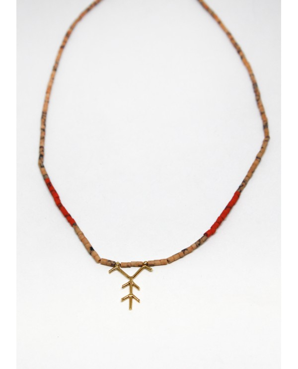Anatolian Tree Beaded Necklace