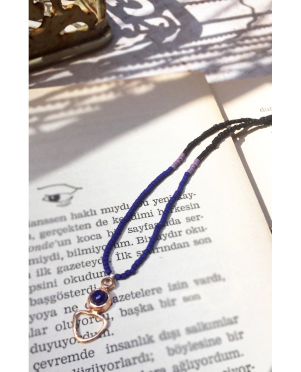 Anatolian Woman Necklace-Lapis