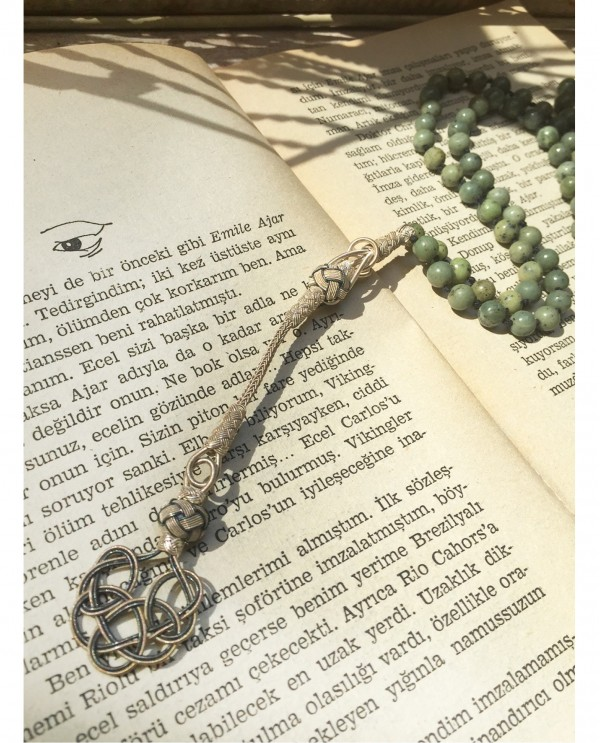 Jade Rosary Kazaziye Necklace