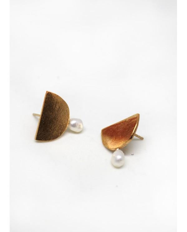 Grec Pearl Earrings