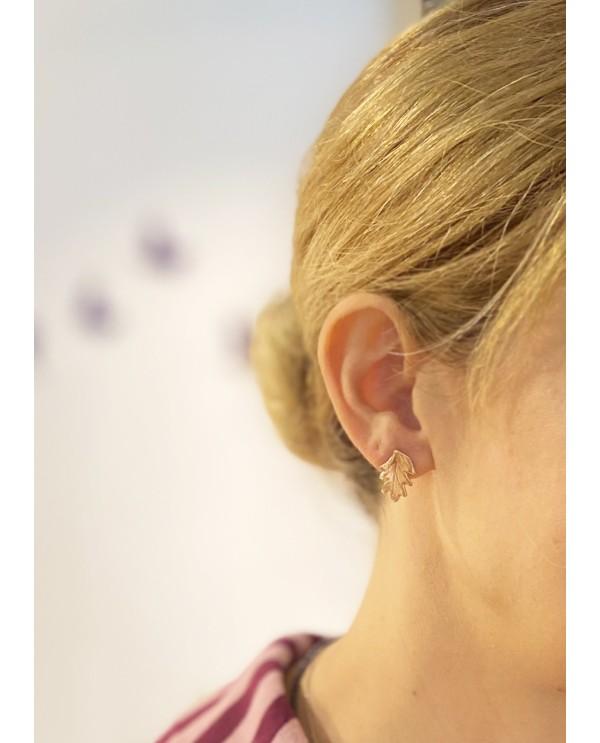 Botanic-Acorn Earring