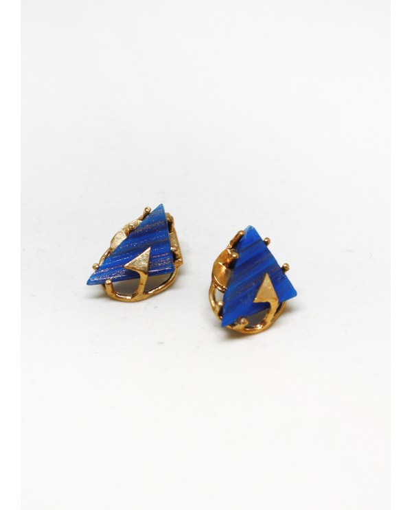 Byzantine Triangle Earrings
