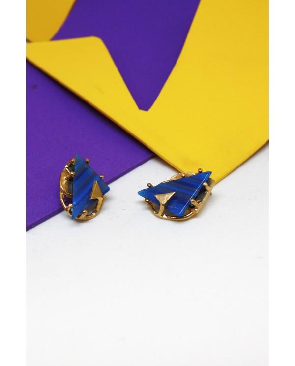 Byzantine Triangle Earrings
