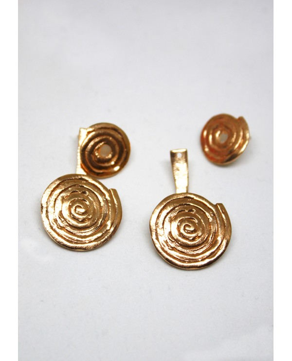 Double Rose Earrings