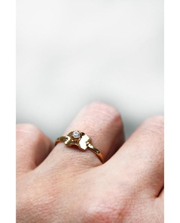 Frill Swarovski Ring
