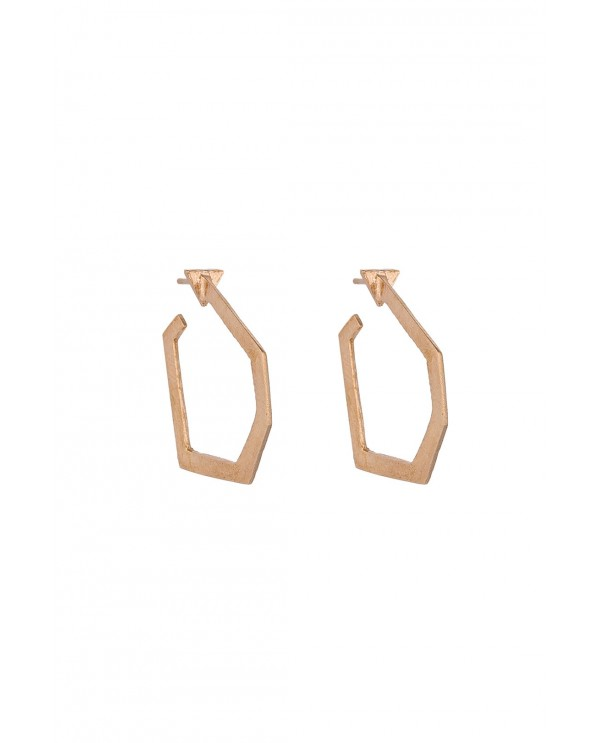 Babil Square Earrings