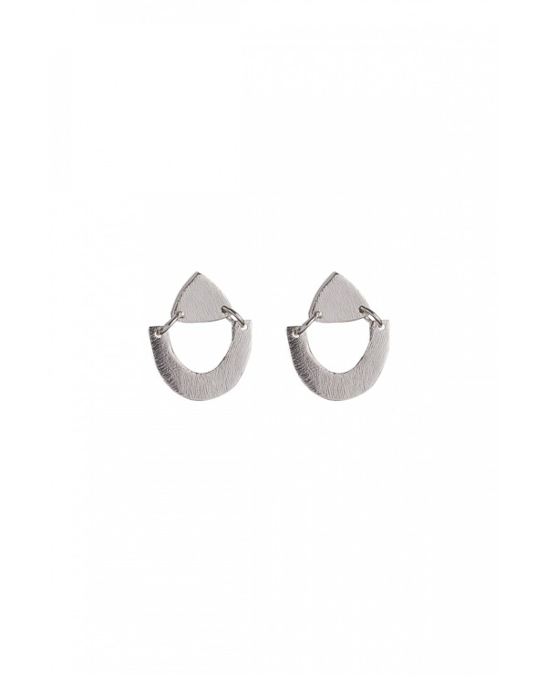 Tinny Phyrigia Triangle Earrings