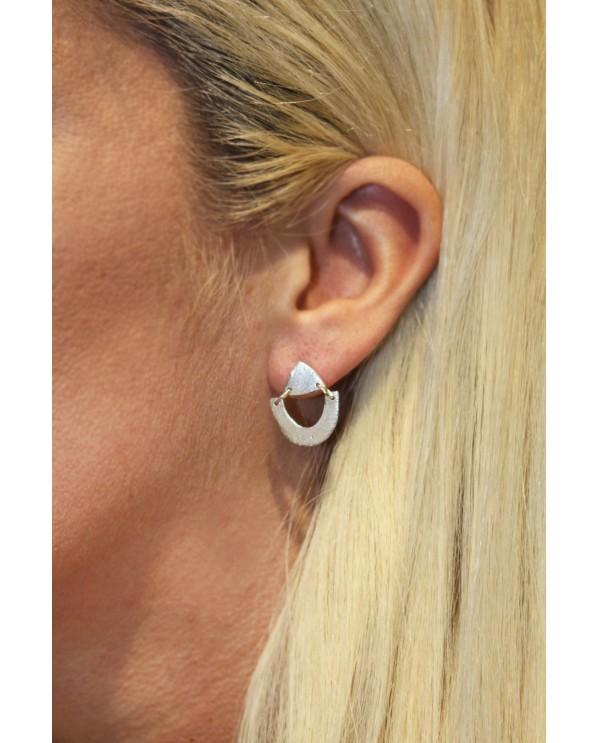 Tinny Phyrigia Triangle Earrings
