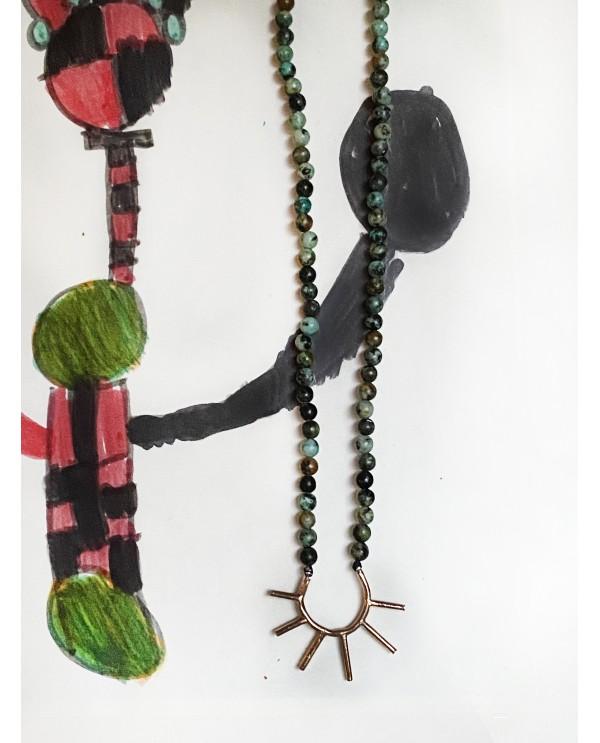 Big Sun Tourquoise Necklace