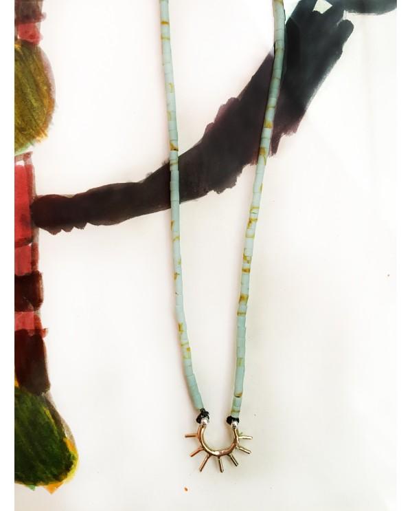 Tinny Sun Beaded Necklace