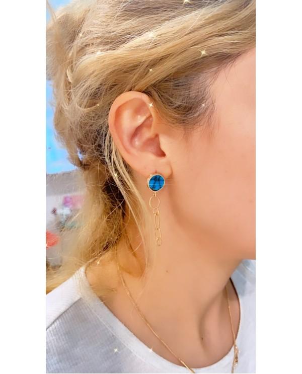 Alacahöyük Small Chain Earring