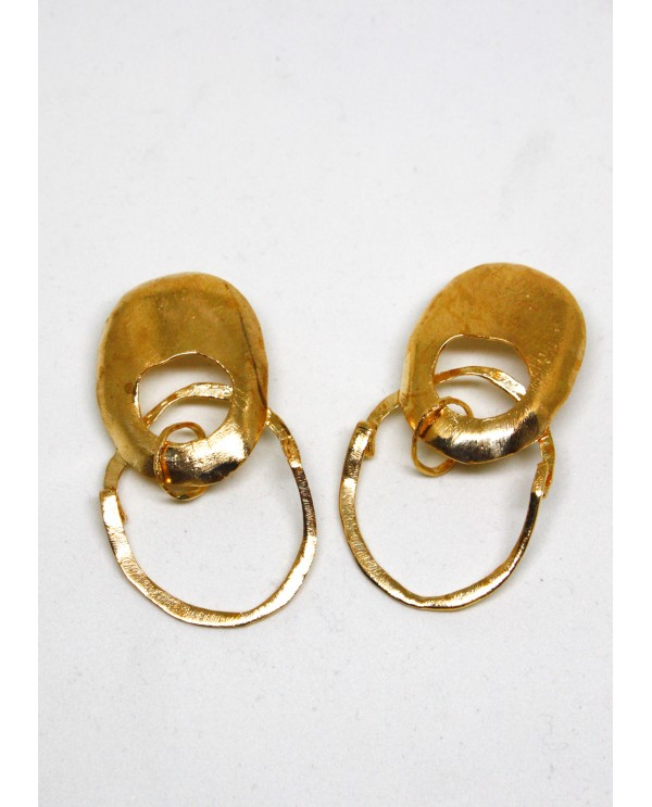 Hittite Belly Earrings