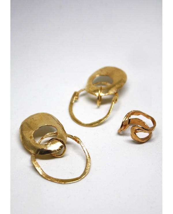 Hittite Belly Earrings