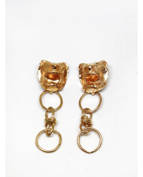 Hittite Sun Lion Earring