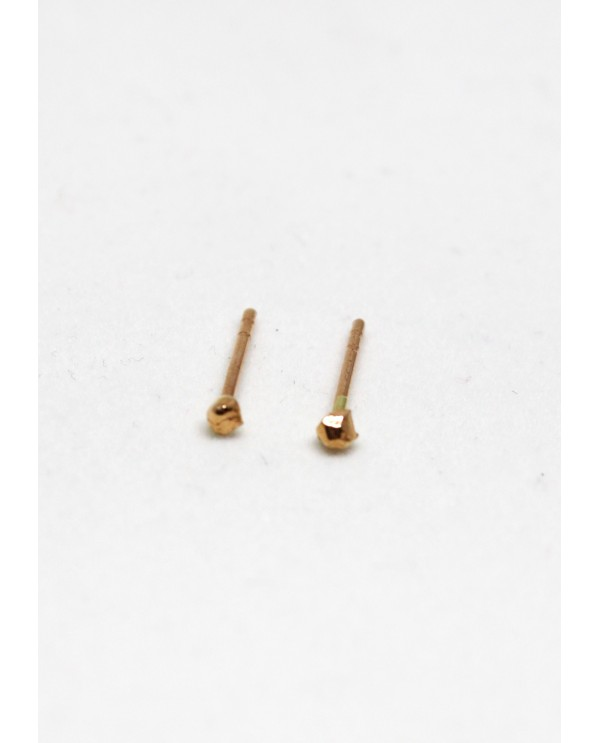 Tiny Minnie Gold Earrings
