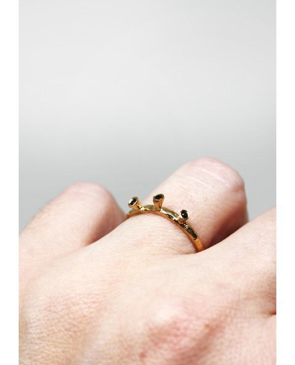 Three Stones Antique Ring