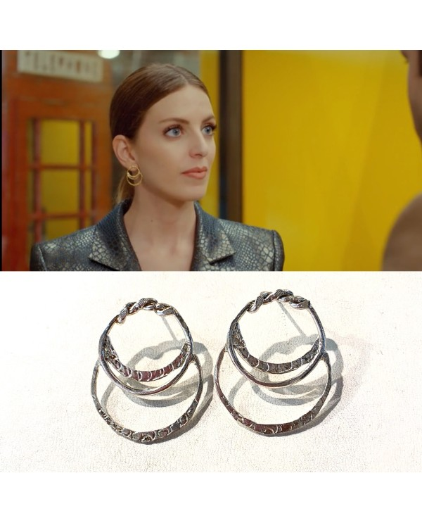Cleopatra Halo Earrings