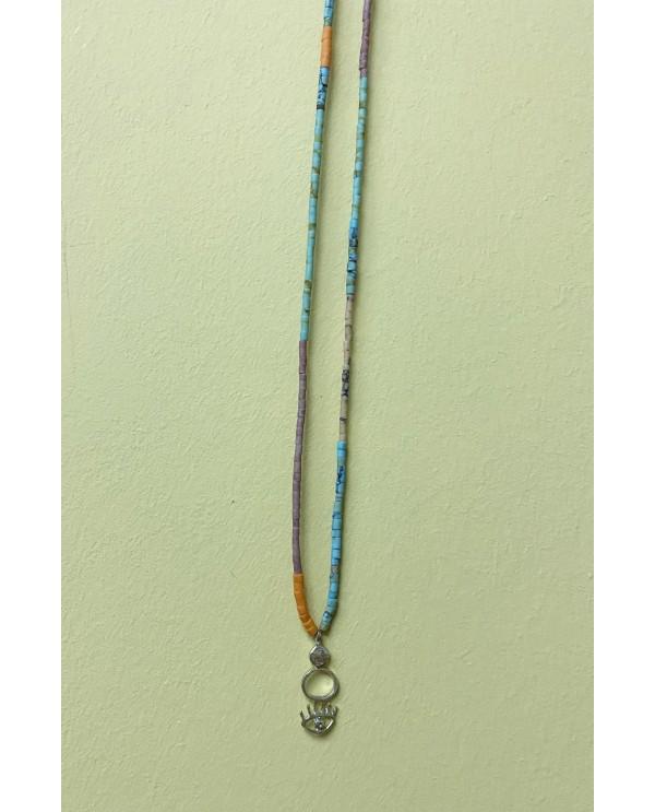 Bremen Eye Beads Necklace