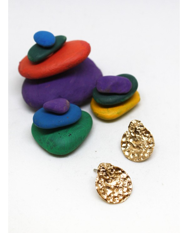 Cleopatra Textured Earrings