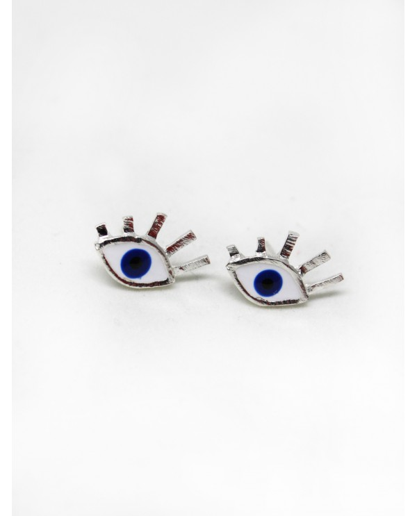Small Evil Eye Earrings
