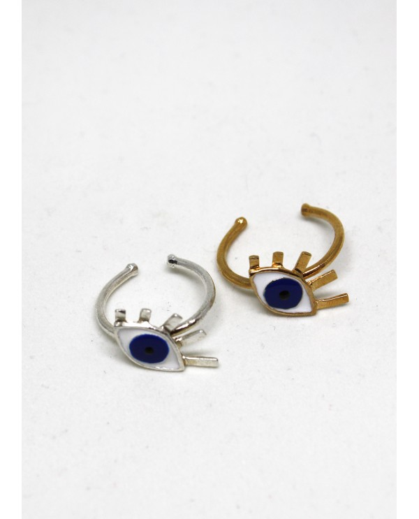 Medium Evil Eye Ring