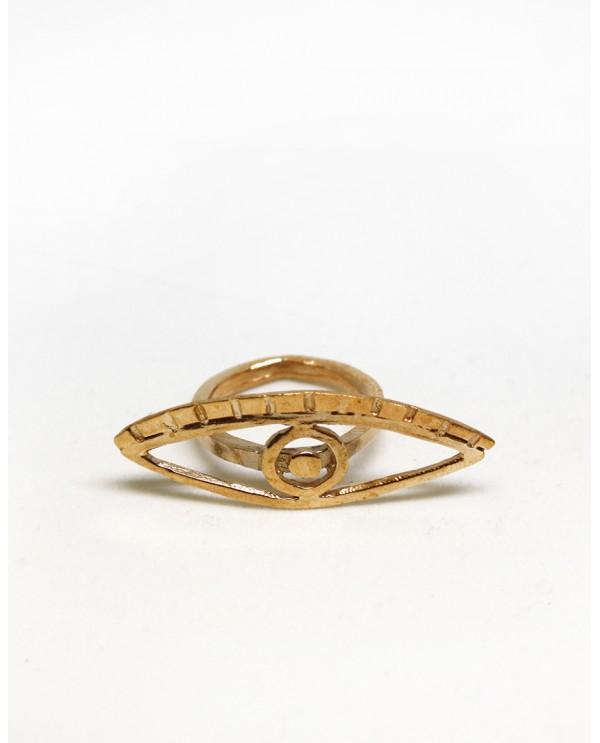 Cleopatra Evil Eye Ring