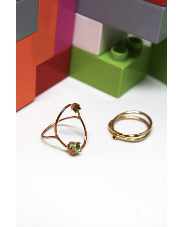 Oval Wire Ring