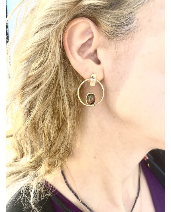 Big Start Tourmaline Earring