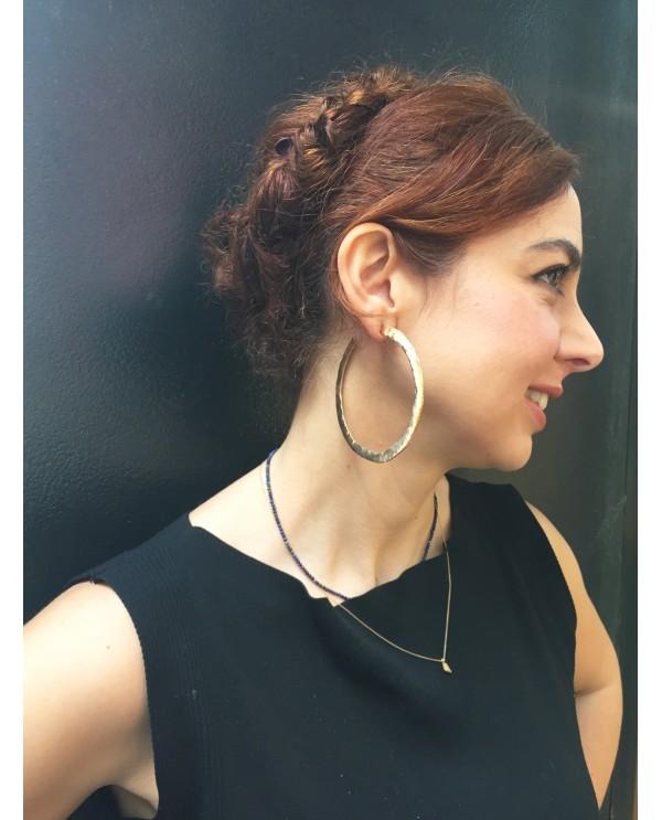 Lydia Huge Hoop Earrings