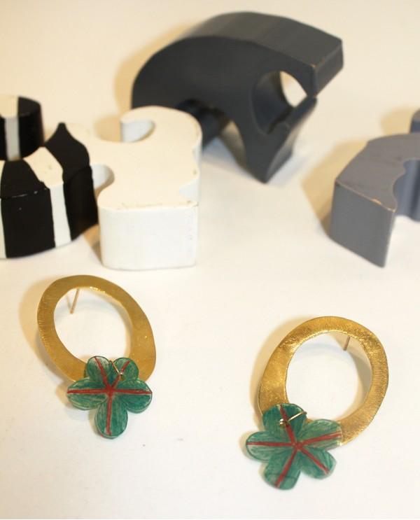 Oval Lunapark Earrings