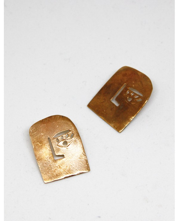 Picasso Square Earrings