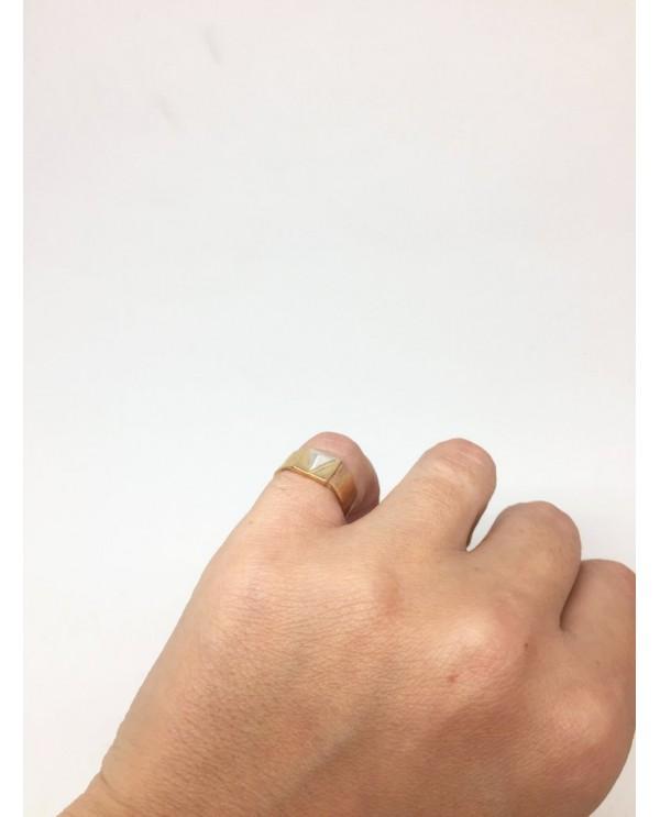 Zımbalı Küçük Parmak Yüzüğü