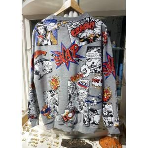 Comic Sweatshirt