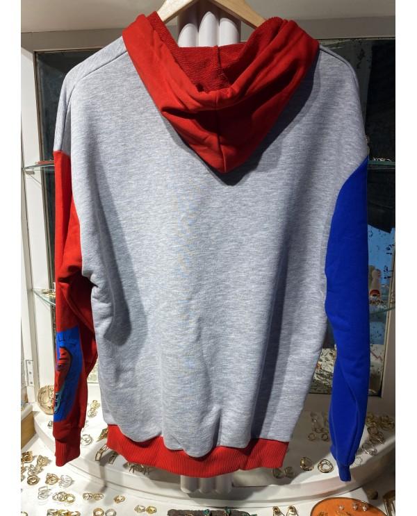 Gray Mosaic Sweatshirt