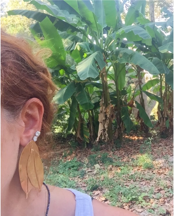 Terra Magnolia Earrings