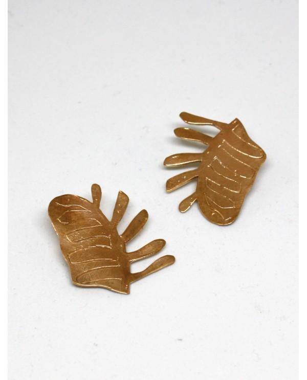 Terra Leaf Earrings